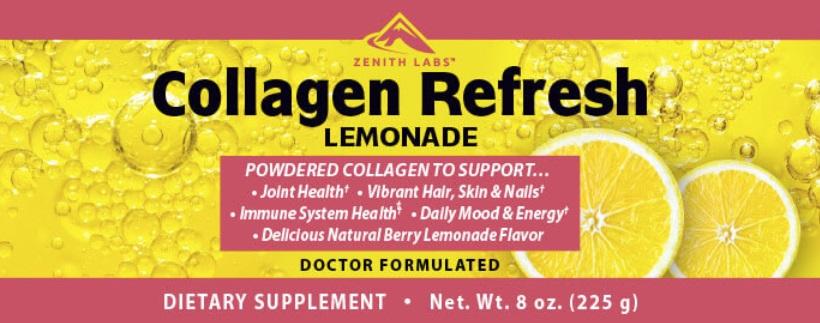 Collagen Refresh Lemonade Ingredients