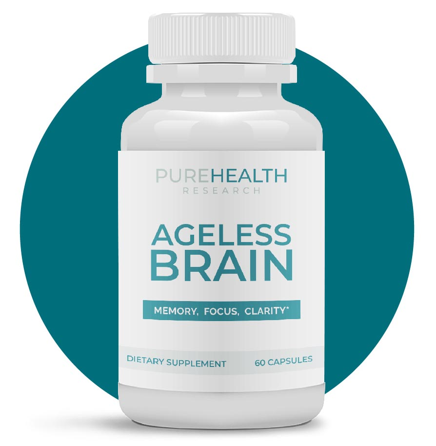 PureHealth Research Ageless Brain Supplement