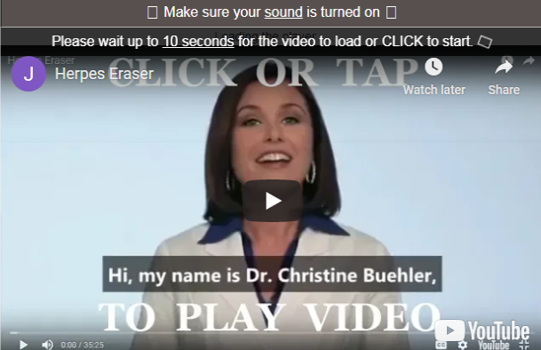 HSV Eraser Digital eBook - Is Dr. Christine Buehler's Program Scam? Read