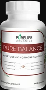 PureLife Organics Pure Balance Supplement