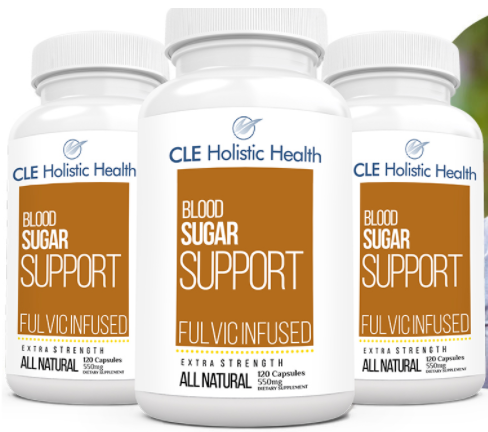 CLE Holistic Health Blood Sugar Support Ingredients List