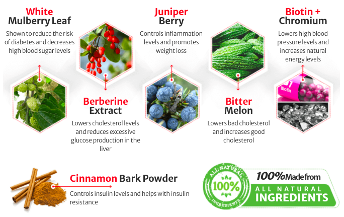 Guardian Botanicals Blood Balance Ingredients