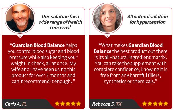 Guardian Botanicals Blood Balance Review