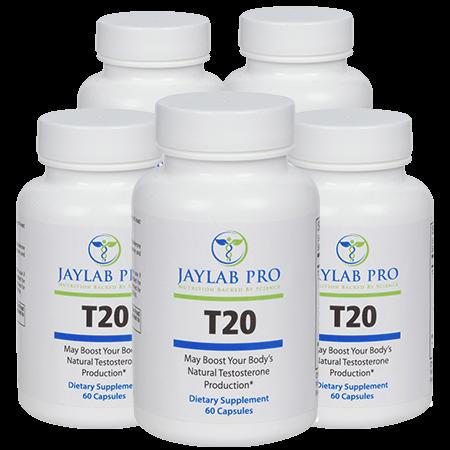 Jaylab Pro T20 Testosterone Boosting Support Formula
