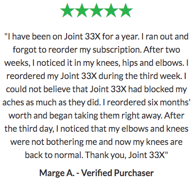 BioTrust Joint 33X Reviews