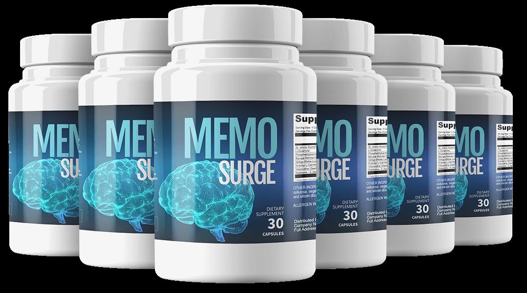MemoSurge Ingredients