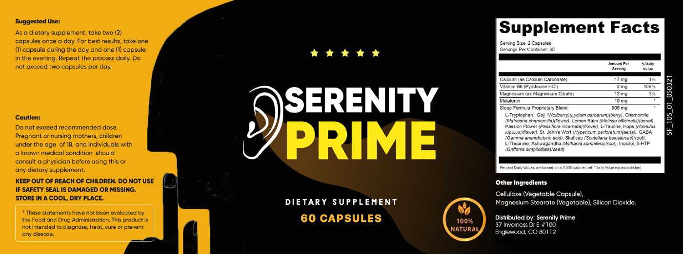 Serenity Prime Supplement Reviews - Is It 100% Safe to Use?