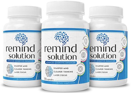 Remind Solution Supplement