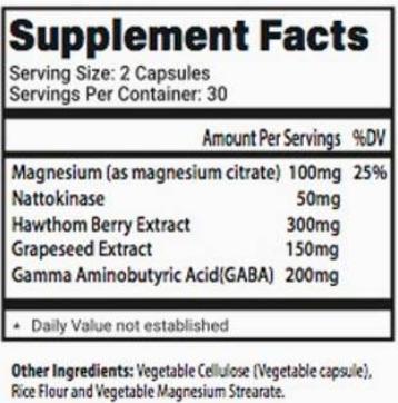 BPS-5 Ingredients