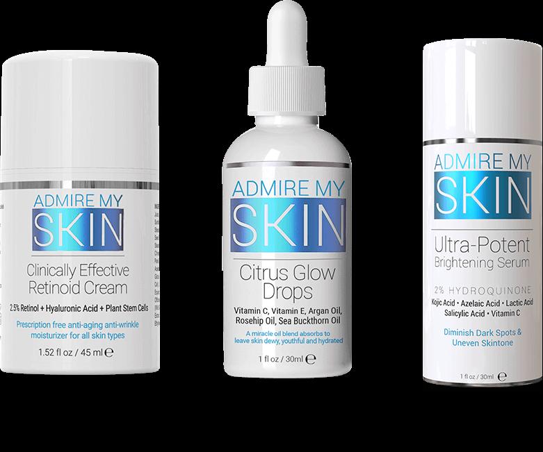Admire My Skin Trifecta Glow System