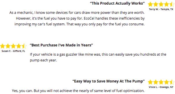 Ecocel Fuel Saver