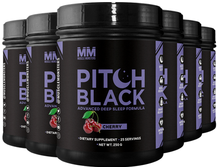 Muscle Monster Pitch Black Supplement