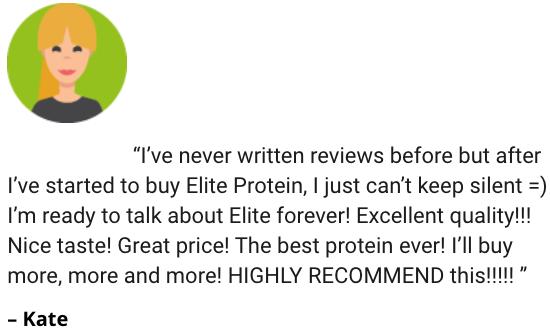 Elite Protein Testimonials