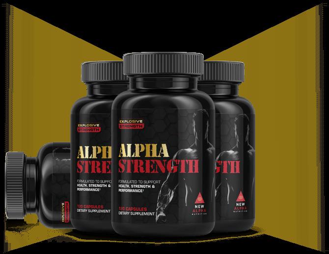 Alpha Strength Supplement