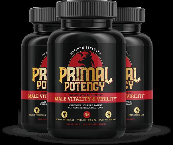Primal Potency Supplement